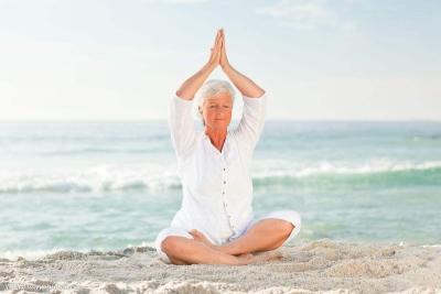 《闽都金秋》养生瑜伽开课了, 第一节重点:腹式呼吸!