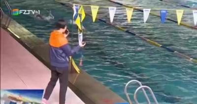 """""""泳""""往直前  福州游泳健儿抓紧备战"""