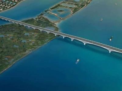 这座大桥即将通车,马尾到仓山只要5分钟!