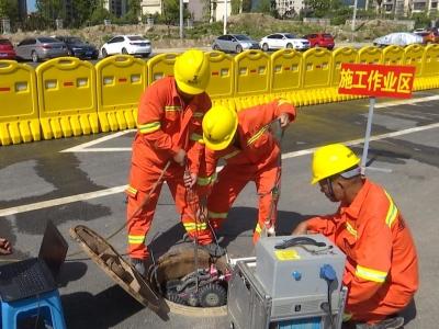 浮村片区排水管网改扩建工程计划年底完工