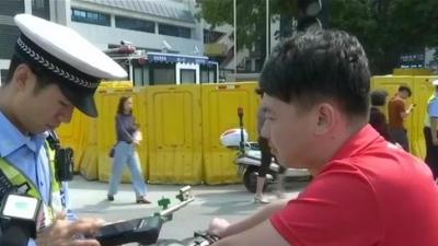 交通曝光台:严查严处 整治非机动车交通违法