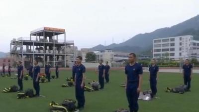 探访福建首批招录消防员培训 他们有啥不一样?