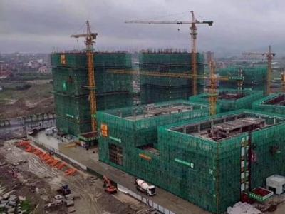 中国东南大数据产业园8栋研发楼封顶 年底竣工