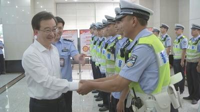 王宁赴市交警支队调研时强调 依法依规 从严执法 全力抓好电动自行车规范化管理