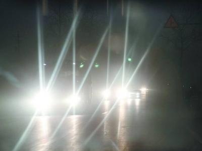 福州53名司机滥用远光灯 分别处罚款100元、扣1分