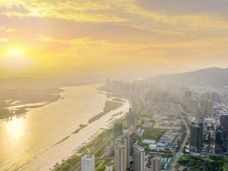 """打卡""""福州最美区域""""三江口,鸟瞰生态美好"""