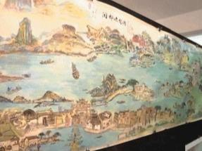 八旬老人厉害了!30米画卷描绘福州民俗风情!
