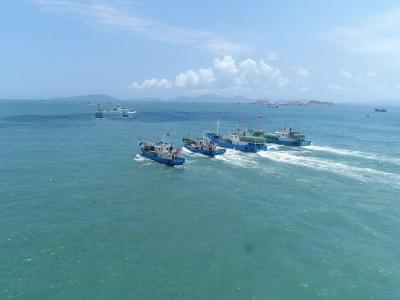 开渔啦!黄岐国家中心渔港158艘渔船出海捕鱼!