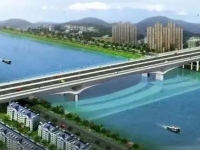 新洪塘大桥正式启动主桥桥面施工 预计2020年通车