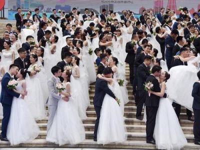 2019年新福州人集体婚礼报名结束 11月3日举行仪式