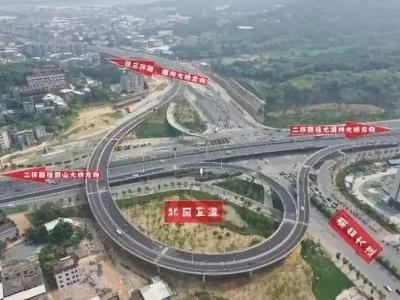 已通车!福州南台大道南段最后一条匝道建成……
