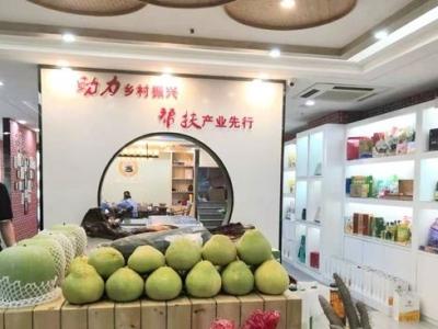 """扶贫电商平台""""乡总农品体验中心""""亮相福州"""