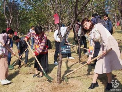 """种树成林!期待这群有颜有才的""""重量级人物""""扎根福州~"""