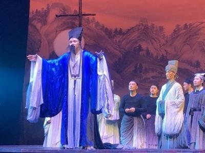 话剧《此心光明》在榕首演 诗意展现王阳明一生