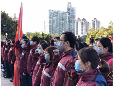 出征!福建省首批医疗队今赴武汉