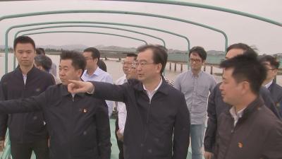 王宁在长乐区调研时强调 打造经济发展新增长极 涵养滨海新城生态本底
