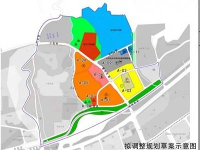 斗顶水库周边规划调整 森林公园东大门或添一条通道