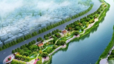 福清又一公园开建!绝美效果图曝光