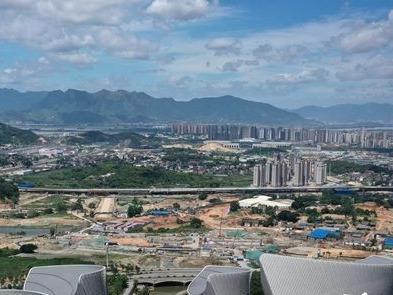 三江口梁厝片区主要道路全面开建