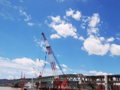 25分钟到滨海新城!刚刚,这座大桥合龙!