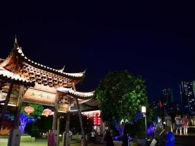 福州夜色:上下杭古街区引游人