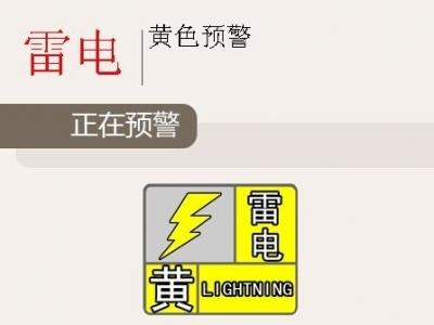 雷雨大风+短时强降水!福州刚刚发布雷电黄色预警信号