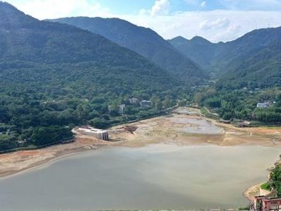 """八一水库""""清肠""""完成 清出12.6万立方米淤泥"""