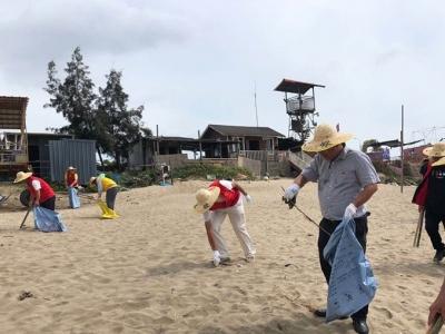 """长乐区开展""""美丽沙滩、平安滨海""""专项行动"""