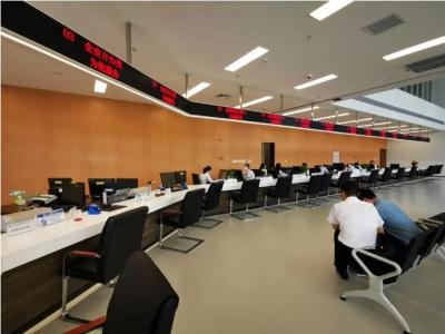 长乐区行政服务中心滨海分中心助力新城建设