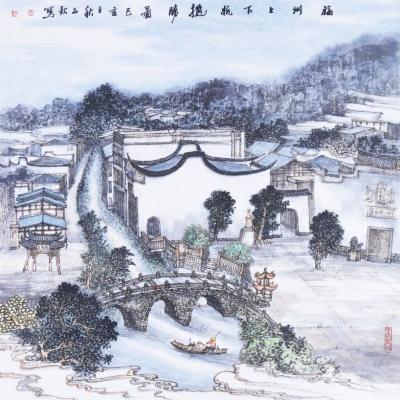白墙飞檐上下杭 古桥流水老福州——《上下杭历史文化街区》创作手记