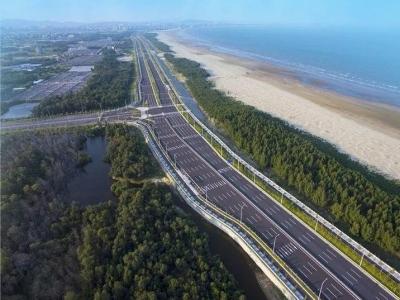 滨海新城路网建设新飞跃 福州临空经济区将建13条道路