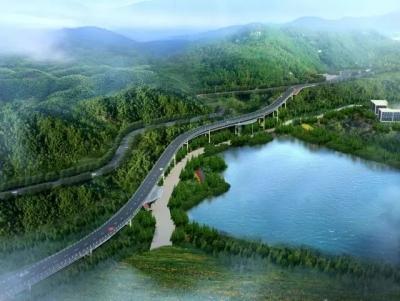 福州将建一条新路 缓解森林公园通道拥堵