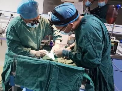 暖心!福建协和医生下基层为出生17天早产儿手术