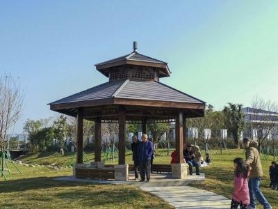 福州大学城再添休闲好去处 沙堤市民公园1月1日起迎客