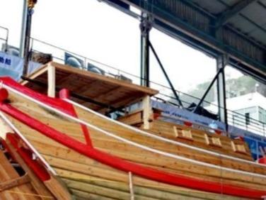 福船心澜号预计下周下水 由福州百年船厂精心打造