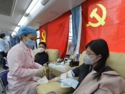 协和医院旁献血房车启用 位于地铁南门兜站G出口